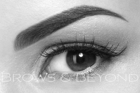 eyebrow tattoo feather stroke powder brows melbourne